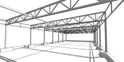 Construccion de puertas de hierro rejas balcones ventanas escaleras y barandas hiron es - Fotos de estructuras metalicas ...